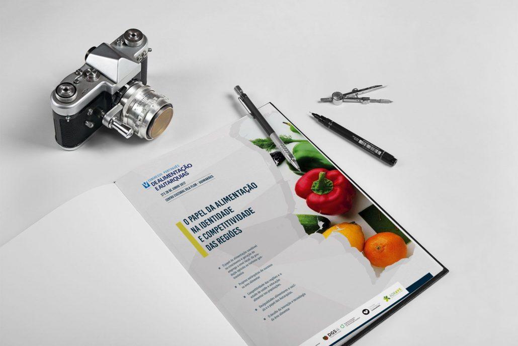 Portfolio Alimentacao e Autarquias Web design e design gráfico em Braga.