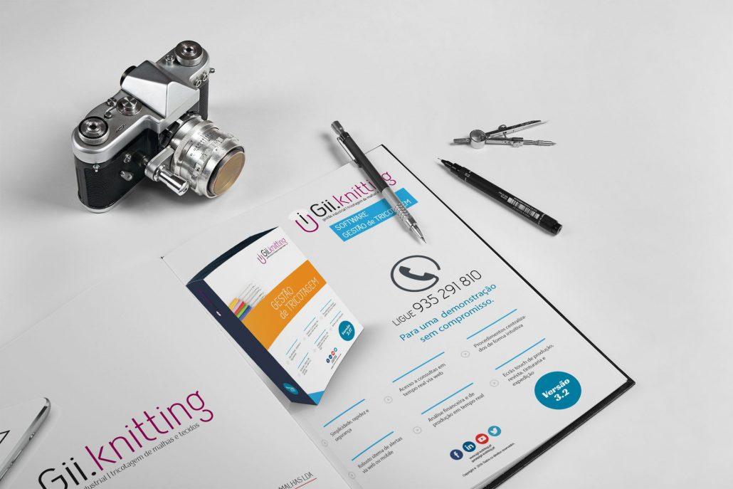 Portfolio Igii-Knitting Web design e design gráfico em Braga.
