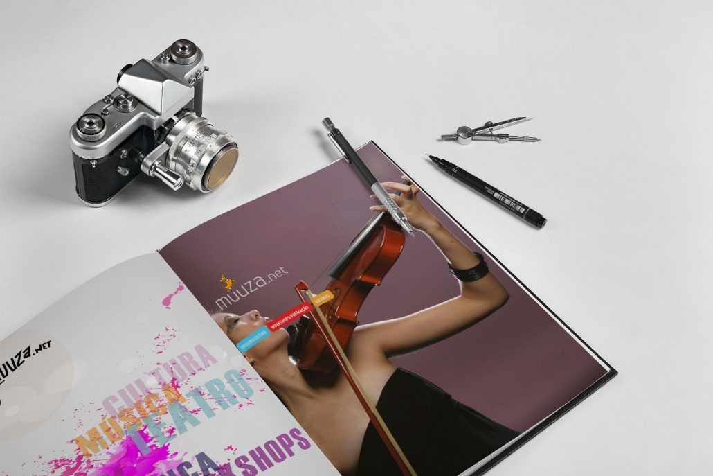 Portfolio Muuza Web design e design gráfico em Braga.